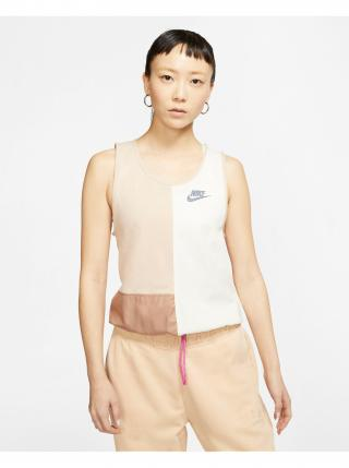 Tielka pre ženy Nike - béžová dámské S