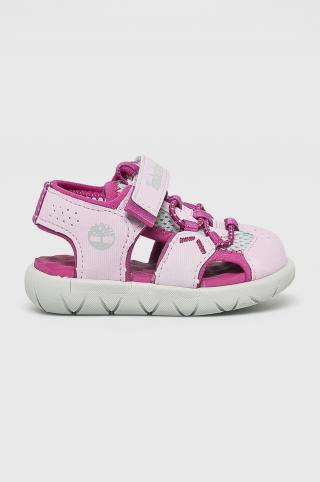 Timberland - Detské sandále Perkins Row ružová 26