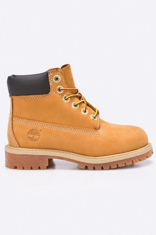 Timberland - Detské topánky 6 In Premium WP Boot žltá 31