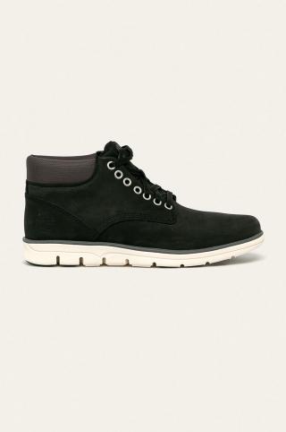 Timberland - Kožená obuv Bradstreet Chukkka pánské čierna 42