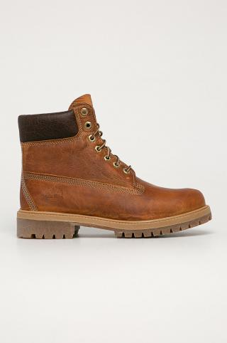 Timberland - Kožená obuv Heritage 6 Premium pánské hnedá 40