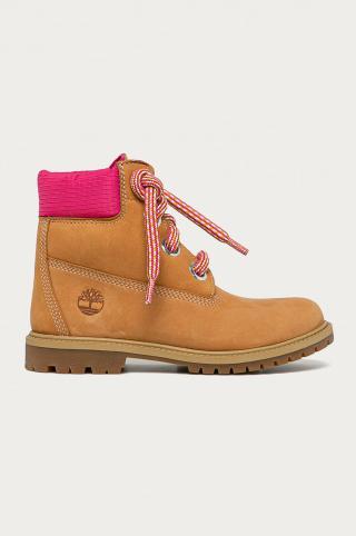 Timberland - Semišové topánky Heritage 6 In dámské hnedá 36