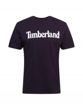 TIMBERLAND Tričko  čierna / biela pánské M