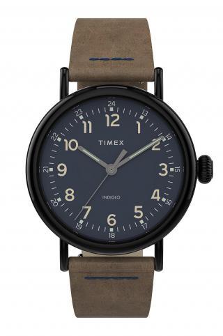 Timex - Hodinky TW2T69400 pánské hnedá ONE SIZE
