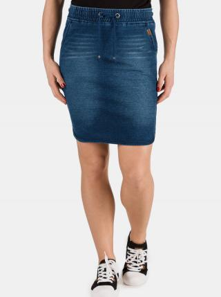 Tmavomodrá dámska rifľová sukňa SAM 73 dámské S