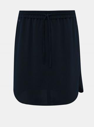 Tmavomodrá sukňa Lacoste dámské
