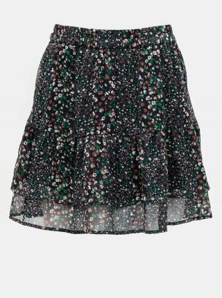 Tmavomodrá vzorovaná sukňa Jacqueline de Yong dámské L