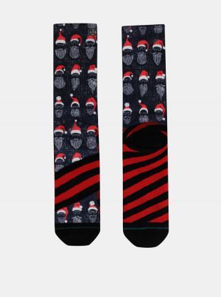 Tmavomodré pánske ponožky s vianočným motívom XPOOOS pánské tmavomodrá 39-42