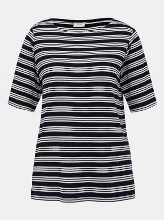 Tmavomodré pruhované tričko Jacqueline de Yong Camina dámské tmavomodrá XS