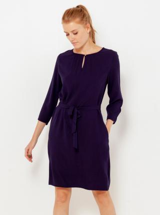 Tmavomodré šaty CAMAIEU dámské tmavomodrá XL