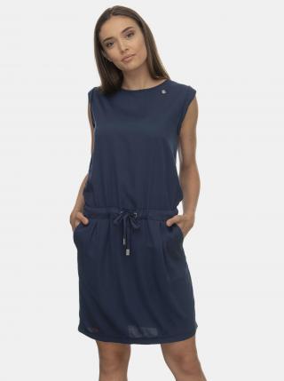 Tmavomodré šaty Ragwear Mascarpone - L dámské modrá L