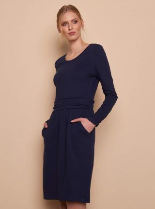 Tmavomodré šaty Tranquillo dámské tmavomodrá XS