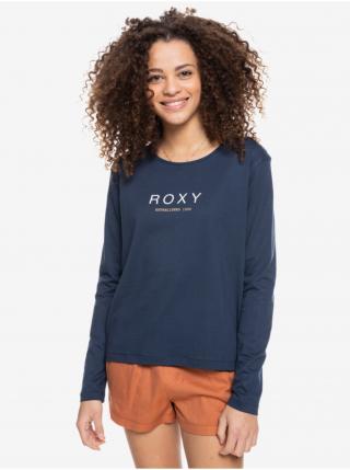 Tmavomodré tričko s dlhým rukávom Roxy dámské tmavomodrá M