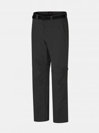 Tmavošedé pánske nohavice Hannah pánské tmavosivá XL