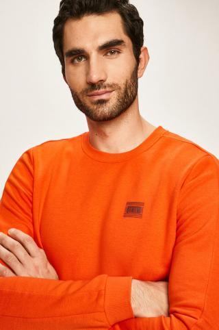 Tom Tailor Denim - Mikina pánské oranžová S