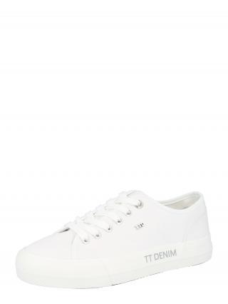 TOM TAILOR DENIM Nízke tenisky  biela dámské 37