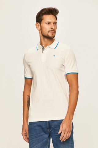 Tom Tailor Denim - Pánske polo tričko pánské biela S