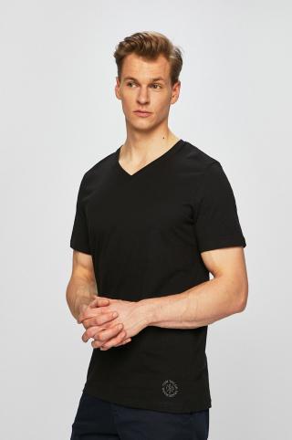 Tom Tailor Denim - Pánske tričko  pánské čierna S