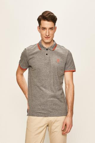 Tom Tailor Denim - Polo tričko pánské tmavomodrá S