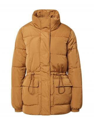TOM TAILOR DENIM Prechodná bunda  hnedá dámské XL