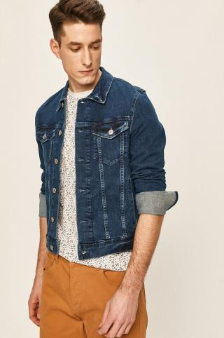 Tom Tailor Denim - Rifľová bunda pánské modrá S