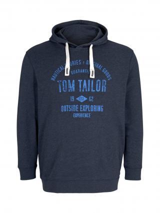 TOM TAILOR Men Plus Mikina  námornícka modrá pánské XXXL