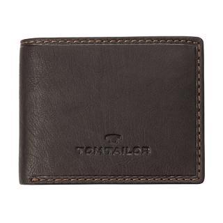 Tom Tailor Pánska peňaženka 14200 29 pánské hnedá