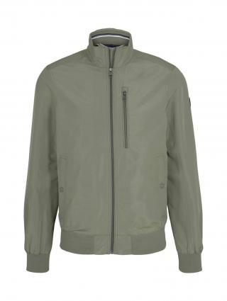 TOM TAILOR Prechodná bunda  zelená pánské M