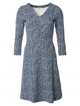 TOM TAILOR Šaty  biela / námornícka modrá dámské 36