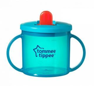 TOMMEE TIPPEE Hrnček dvojuchý pre najmenších Basic - tyrkysový