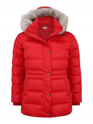Tommy Hilfiger Curve Zimná bunda  červená dámské XXXL