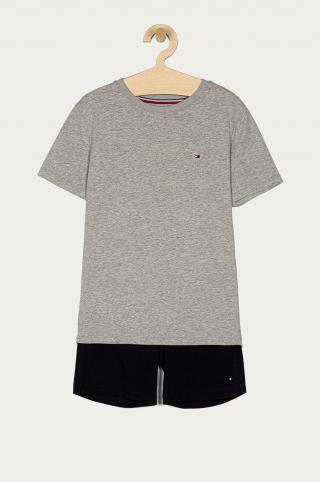 Tommy Hilfiger - Detské pyžamo 128-164 cm sivá 128