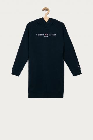 Tommy Hilfiger - Dievčenské šaty 116-176 cm tmavomodrá 128