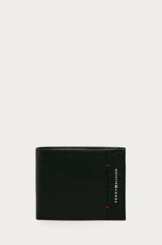 Tommy Hilfiger - Kožená peňaženka pánské čierna ONE SIZE