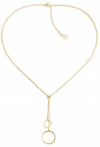 Tommy Hilfiger Moderné pozlátený náhrdelník TH2780151