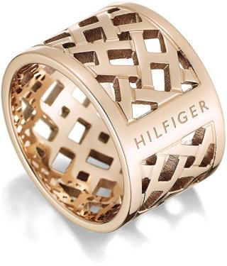 Tommy Hilfiger Originálne pozlátený prsteň z ocele TH2700744 56 mm dámské