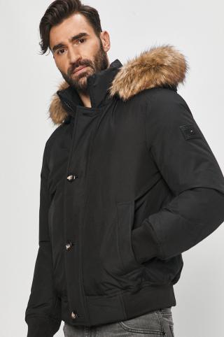 Tommy Hilfiger - Páperová bunda pánské čierna S
