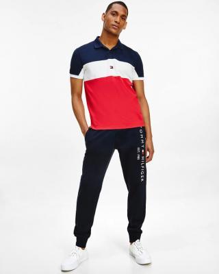 Tommy Hilfiger Polo tričko Červená pánské M