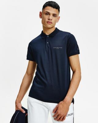 Tommy Hilfiger Polo tričko Modrá pánské XL
