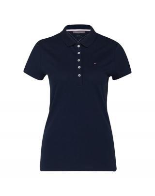 TOMMY HILFIGER Tričko Chiara  námornícka modrá dámské M