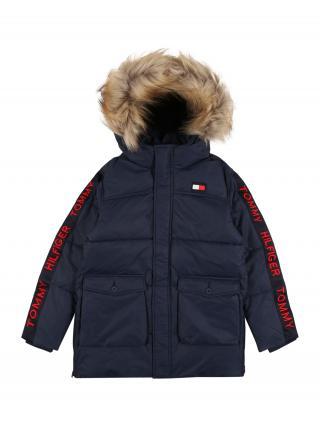 TOMMY HILFIGER Zimná bunda  námornícka modrá / červená / biela pánské 104