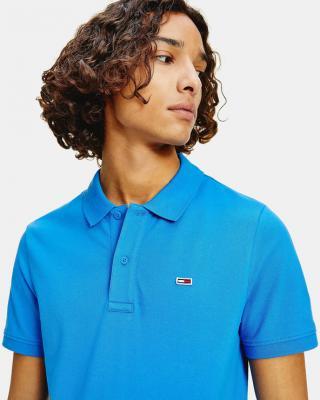 Tommy Jeans Polo tričko Modrá pánské XXL