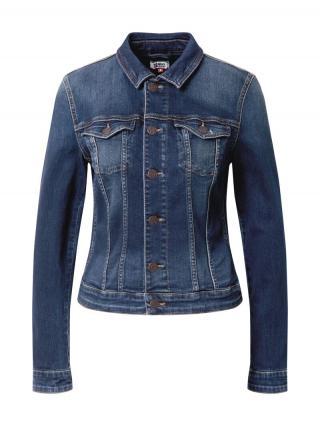 Tommy Jeans Prechodná bunda VIVIANNE  modrá denim dámské XXS