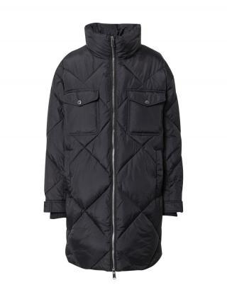 Tommy Jeans Prechodný kabát Diamond  čierna dámské XS