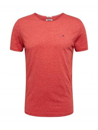Tommy Jeans Tričko  červená pánské M