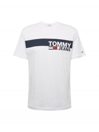 Tommy Jeans Tričko ESSENTIAL  tmavomodrá / červená / biela pánské M