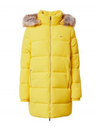 Tommy Jeans Zimný kabát Modern Puffa  žltá dámské XS