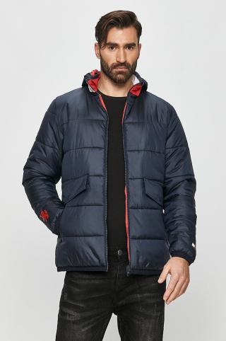 Tommy Sport - Obojstranná bunda pánské tmavomodrá S