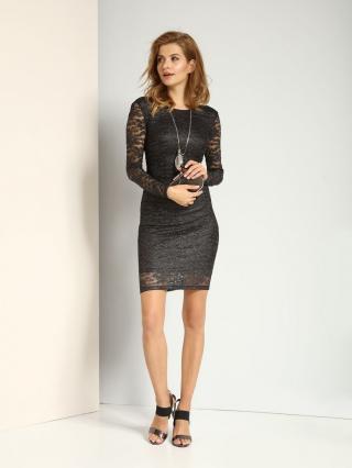 Top Secret LADYS DRESS dámské Black 38