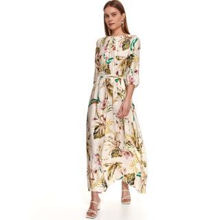 Top Secret LADYS DRESS dámské hnedá | krémová 36